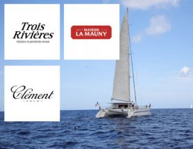 Journée en mer avec les Rhums Clément La Mauny et Trois rivières